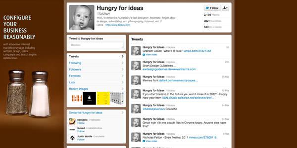 Твиттер фон макеты (26)