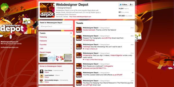 Твиттер фон макеты (6)